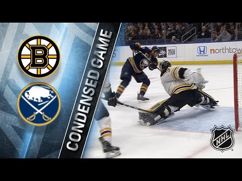 02/25/18 Condensed Game: Bruins @ Sabres
