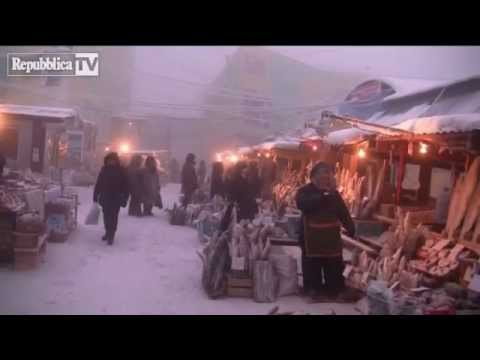 -46°C (-51°F) in Yakutsk City, Siberia / Russia