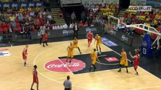 EuroMillions Basketball League - Les highlights : Ostende - Spirou (80-70) (24.05.2017)