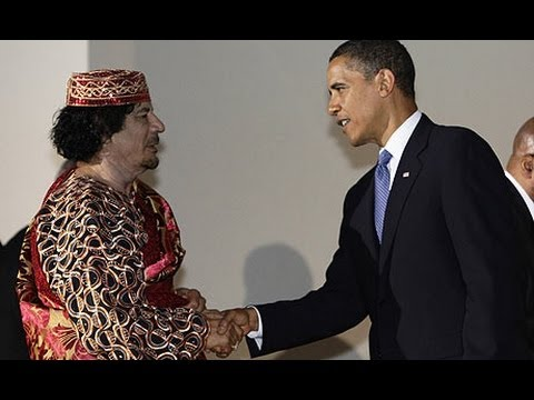 Semantics - The Rise and Fall of Muammar al Gaddafi