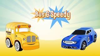 Speedy und Bussy - Wir lernen die Zahlen - Die kunterbunte Spielzeugstadt