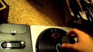 Dj Hero controller for xbox360 unboxing