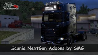 [ETS2. V1.30]...PDT...Scania NextGen Addons by SMG