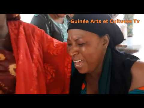DERNIER HOMMAGE - LES ARTISTES GUINEENES RENDENT HOMMAGE À AMINATA BALDE ET NANA KEITA.