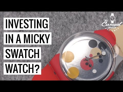 Investing In A SWATCH? Micky Damien Hirst Watch