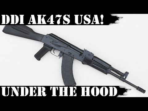 DDI Hammer Forged AK47S Made in USA - Under the Hood!