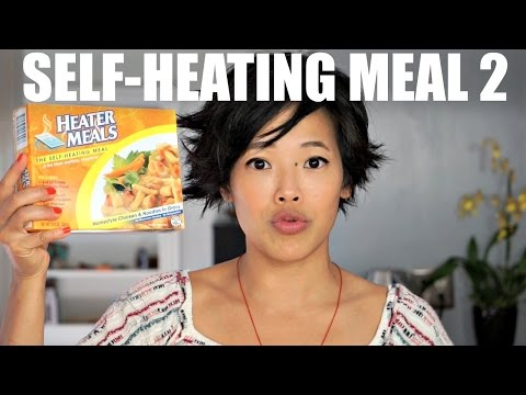 Self-Heating Meal | Heater Meal Taste Test | Chicken Noodle & Gravy