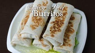 Spicy Beef Burritos (burriito Hilib) بوريتو اللحم