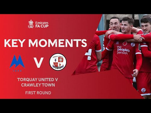 Torquay Crawley Town Goals And Highlights