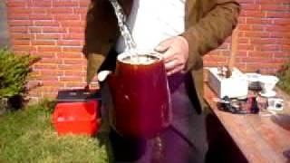 Kaffee kochen wie früher mit der DICKEN BERTA