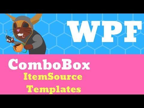 C# WPF Tutorial - ComboBox, ItemSource and Templates