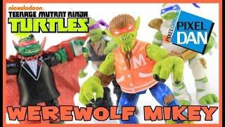 Werewolf Mikey Teenage Mutant Ninja Turtles Monsters and Mutants Figure Video Review
