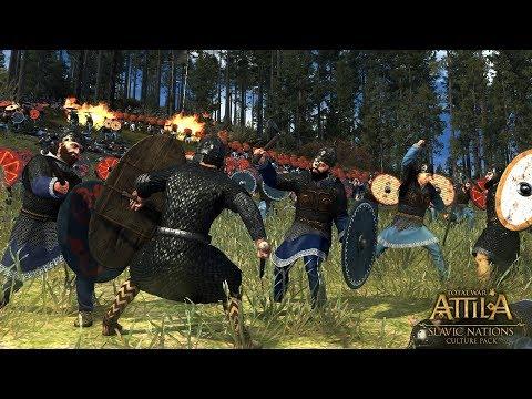 Total War: Attila (Легенда) - Склавины #3 #СидимДома
