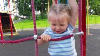Vlog.Играем на детской площадке.Elvira plays at playground.