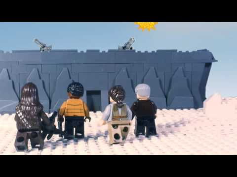 STAR WARS The Force Awakens in LEGO - Behind The Scenes Part 1 (Starkiller base)