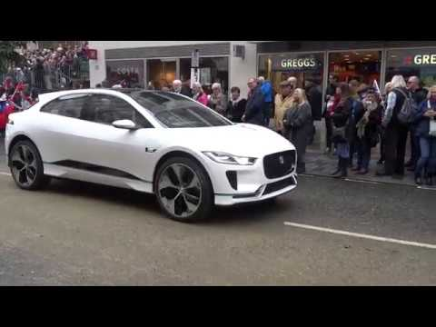 Jaguar Ipace live on the streets of London