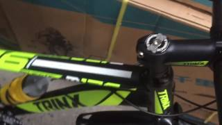Trinx m136 2017 ( siêu phẩm ) đen xanh lá . Xedaptrinx.vn . 0962606669 . Hàng nhập khẩu chính hãng