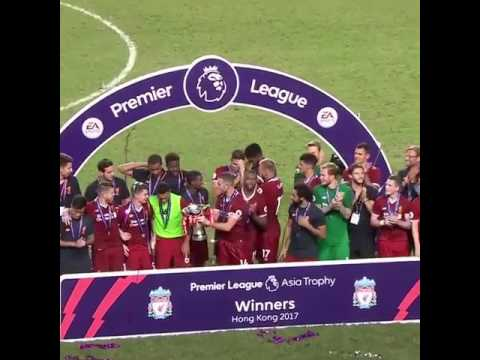 liverpoolfc wins premier League Asia trophy