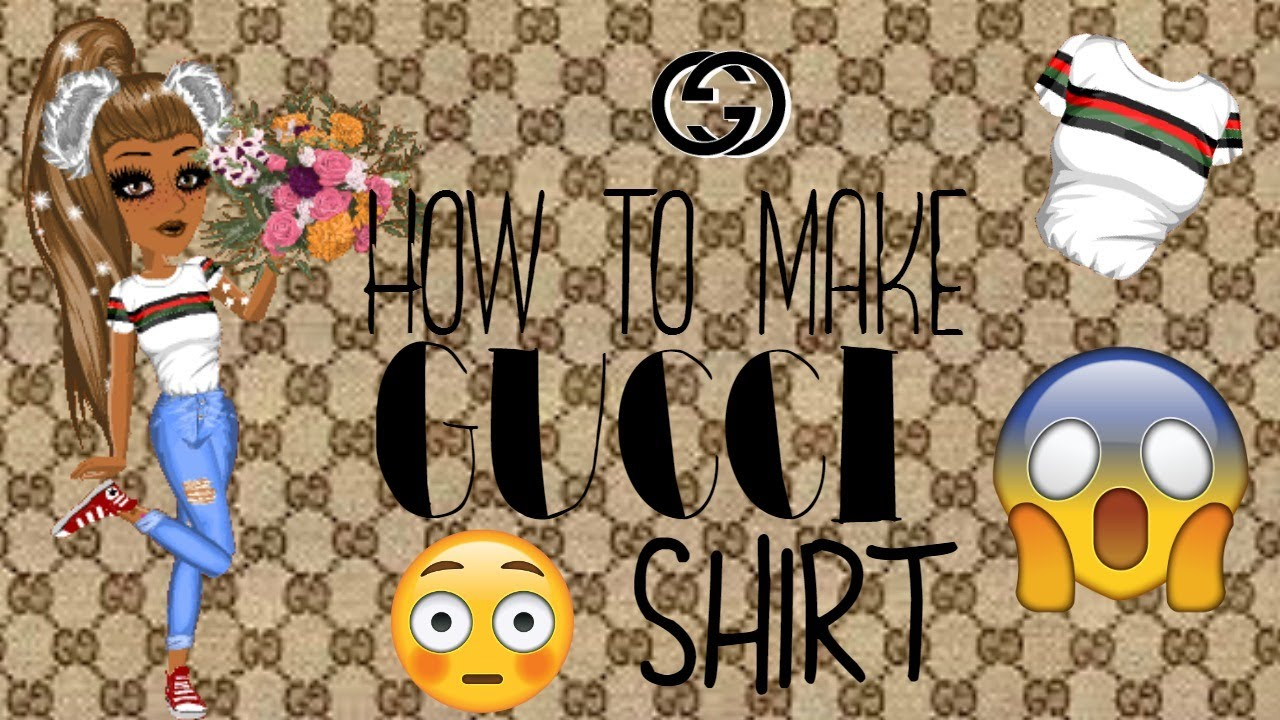 How to make a gucci shirt youtube for How to print shirt