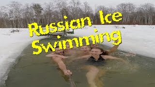 Brand Russian Ice Swimming