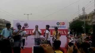New Band Sound Shapers Perfomed on stage of The Times of India @Raahgiri in Dwarka, New Delhi