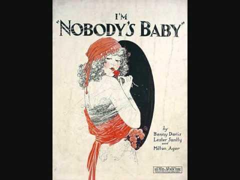 Marion Harris - I'm Nobody's Baby (1921)