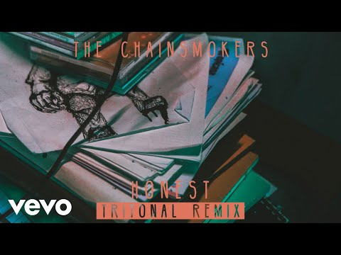 The Chainsmokers  Honest Tritonal Remix Audio
