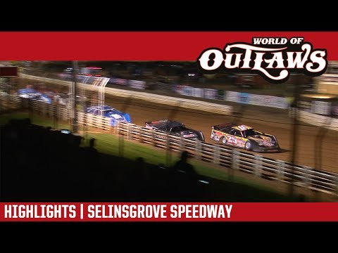 World of Outlaws Craftsman Late Models Selinsgrove Speedway September 22, 2018 | HIGHLIGHTS