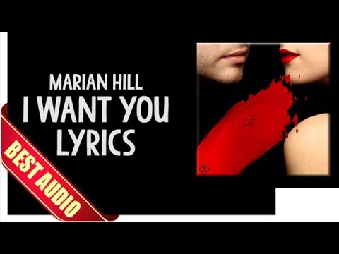 Marian Hill - I Want You Lyrics (Best Audio)