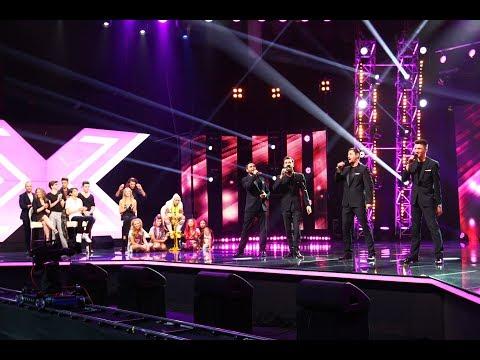 "Dean Martin - ""That's Amore"". Vezi Interpretarea Grupului Ad Libitum La X Factor"