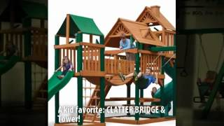 Gorilla Playset Treasure Trove Childrens Playset From Home And Patio Decor Center
