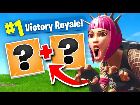 This Strategy Isn't Even Fair... Fortnite Battle Royale