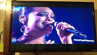 The Voice- Season 14- Live Playoffs- Spensha Baker- Performance- I Still Believe In You. Mp3
