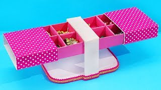 Unique! How to Reuse OLD SWEET BOX! I #DIY Easy Best Out of Waste! Mithai ke Diibbe ka use!