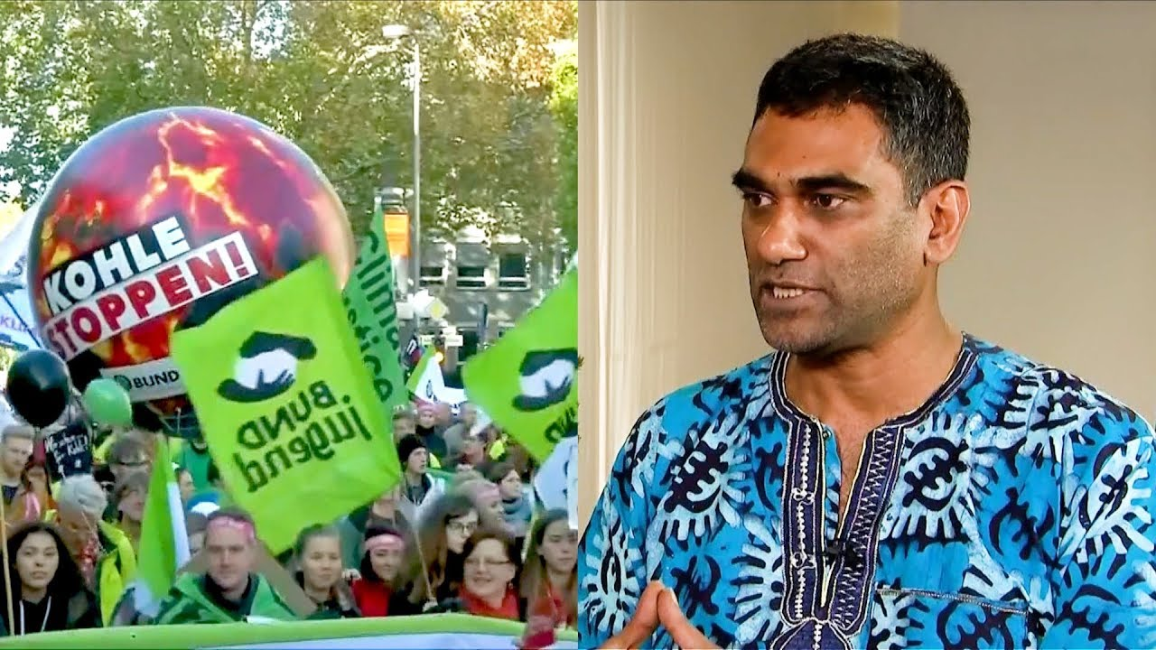 """Climate Apartheid"": South African Climate Activist Kumi Naidoo Slams Inequality at U.N. Summit"