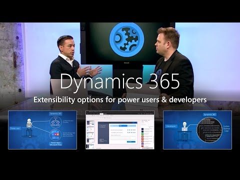 Extensibility Options for Dynamics 365