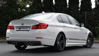 BMW 550i exhaust sounds