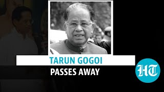 Former Assam CM Tarun Gogoi passes away; tributes pour in