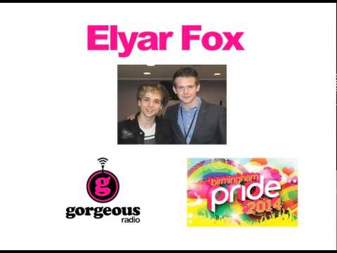 Elyar Fox interviewed by Ben Mason at Birmingham Pride 2014