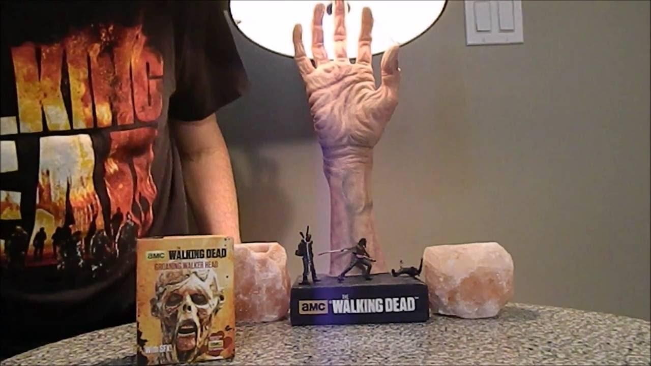 The Walking Dead Mini Groaning Walker Head