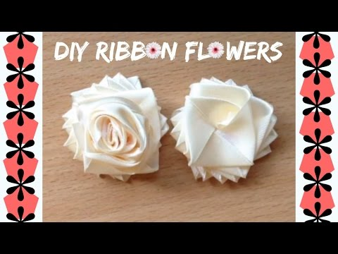 diy no sew ribbon flowers - photo #4