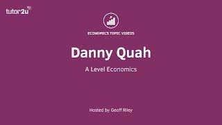 Economist Profile: Danny Quah