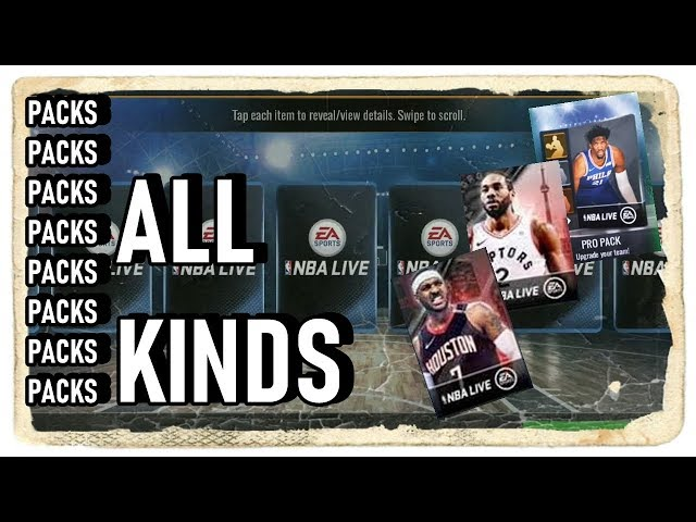 Off-Season Movers Packs Opening ???? NBA Live Mobile ????