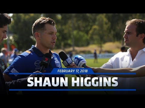 Shaun Higgins media conference (February 17, 2018)