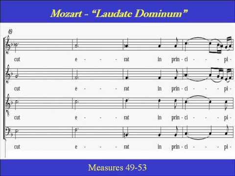 Mozart-Laudate Dominum-Solo-Score.wmv