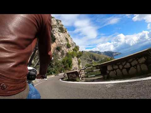 Riding in the Amalfi Coast with the GoPro Hero8