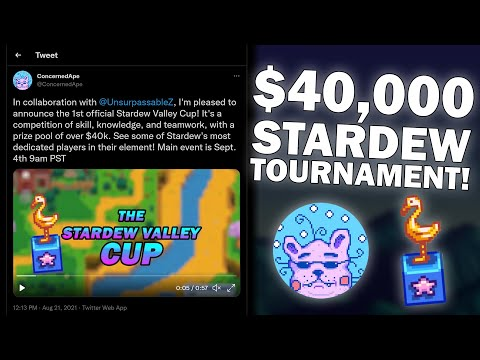 The Stardew Valley Cup: A $40,000 Stardew Valley Tournament!