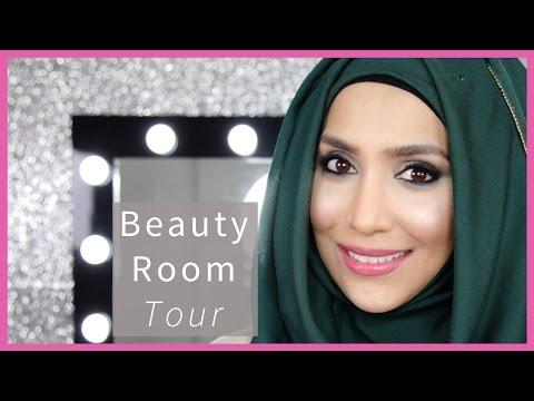 BEAUTY ROOM TOUR! | Amena