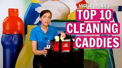 Angela Brown's Top 10 Cleaning Caddies for House Cleaners