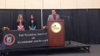 Excellence in Teaching Award Speech